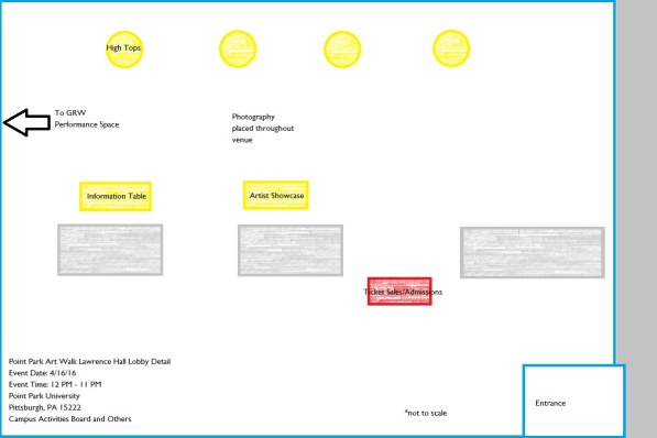 Event Management Layout 3